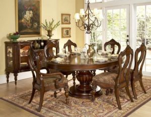 CLASSIC WOODEN DINING TABLE AND CHAIRS DESIGN IDEAS