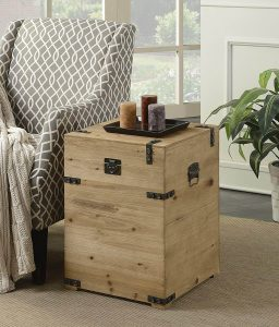 RUSTIC TRUNK TABLE WOODEN LIVING ROOM FURNITURE IDEAS