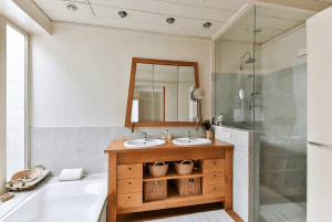 GOOD APPEARANCE OF WOODEN BATHROOM FURNITURE IS IMPORTANT