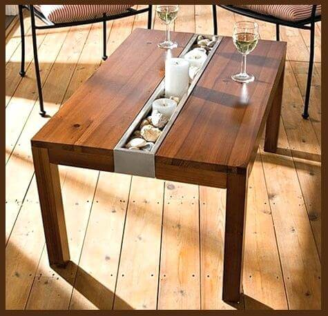 RECLAIMED WOOD OUTDOOR DINING TABLE IDEAS