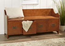 RECLAIMED WOOD PROJECT IDEAS WITH EDWARDS 4 DRAWER STORAGE BENCH