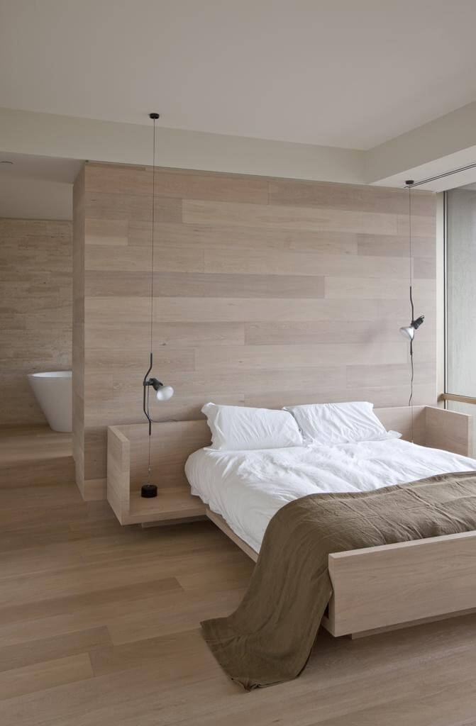 WOOD BEDROOM FURNITURE MINIMALIST STYLE IDEAS