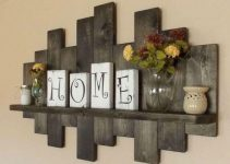 BRILLIANT RUSTIC WOODEN WALL DECOR IDEAS