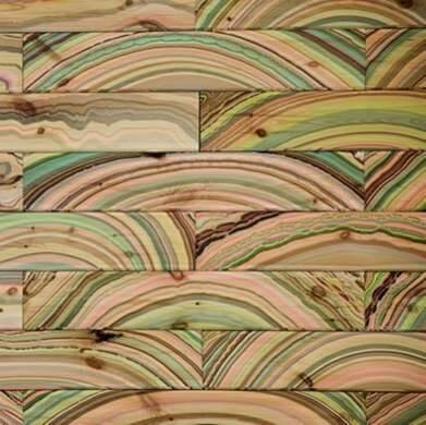 MARBLING PATTERN WOOD FLOORING IDEAS