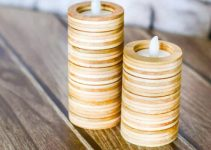 PLYWOOD CANDLEHOLDERS DIY WOOD PROJECT IDEAS FOR BEGINNER