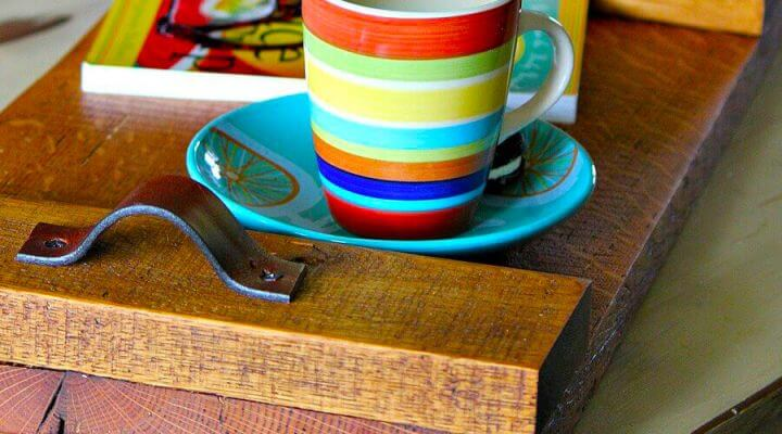 SERVING TRAY DIY WOOD PROJECT IDEAS FOR BEGINNER