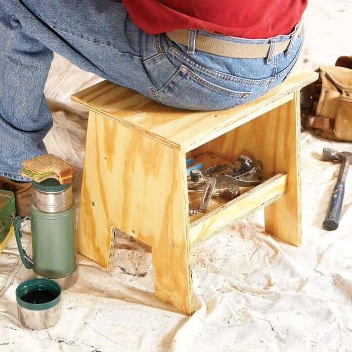 SMALL BENCH DIY WOOD PROJECT IDEAS FOR BEGINNER