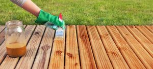 STAINING WOOD FURNITURE