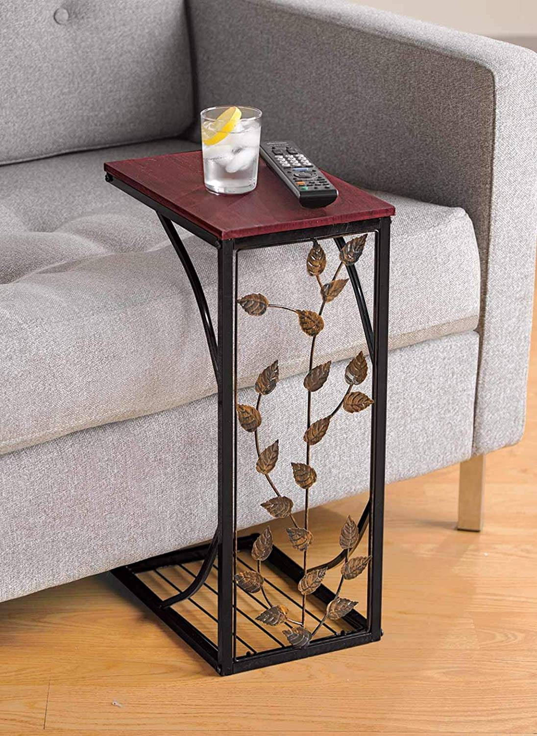 UNIQUE CONNECTED END TABLE WOOD TOP DESIGN IDEAS