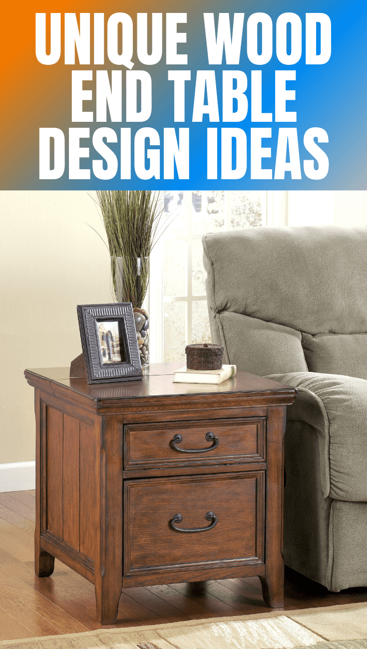 UNIQUE WOOD END TABLE DESIGN IDEAS