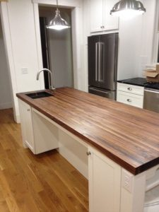 AMERICAN WALNUT BUTCHER BLOCK KITCHEN COUNTERTOP FARMHOUSE STYLE