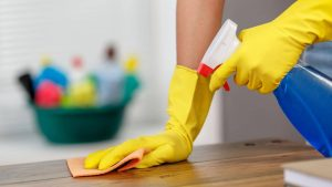 CLEANING SPILL IMMEDIATELY AND MAKE WOOD FURNITURE MORE DURABLE