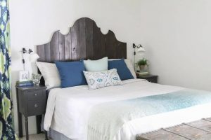 DIY WOOD HEADBOARD PROJECTS FOR YOUR HOUSE