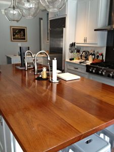 IROKO WOOD COUNTERTOP KITCHEN FARMHOUSE STYLE IDEAS