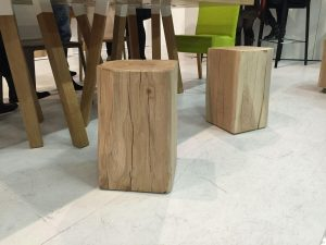 NATURAL SOLID WOOD STOOL DESIGN IDEAS