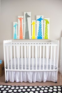NURSERY PAINTED WALL ART IDEAS