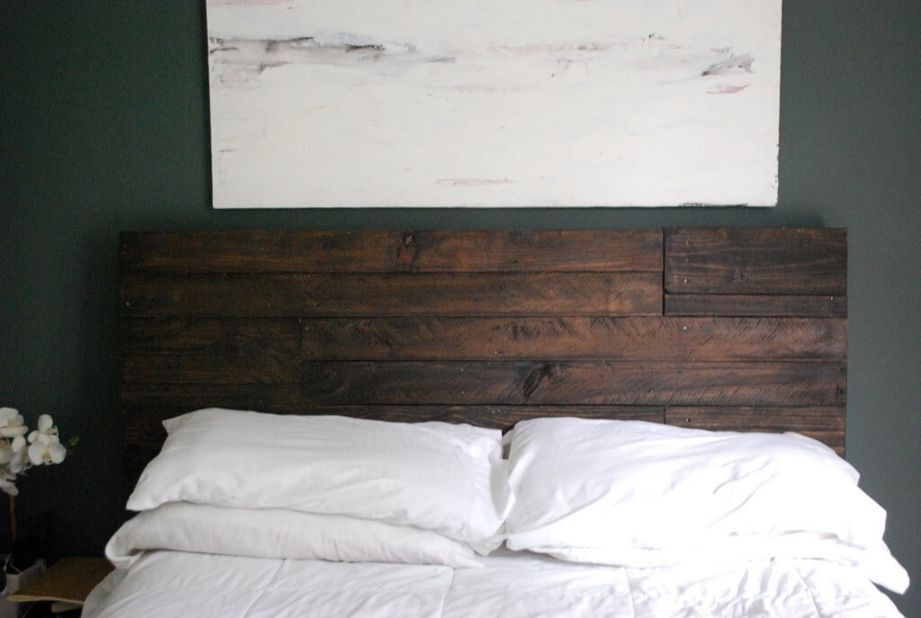 RECLAIMED WOOD HEADBOARD DESIGN IDEAS FULL SIZE