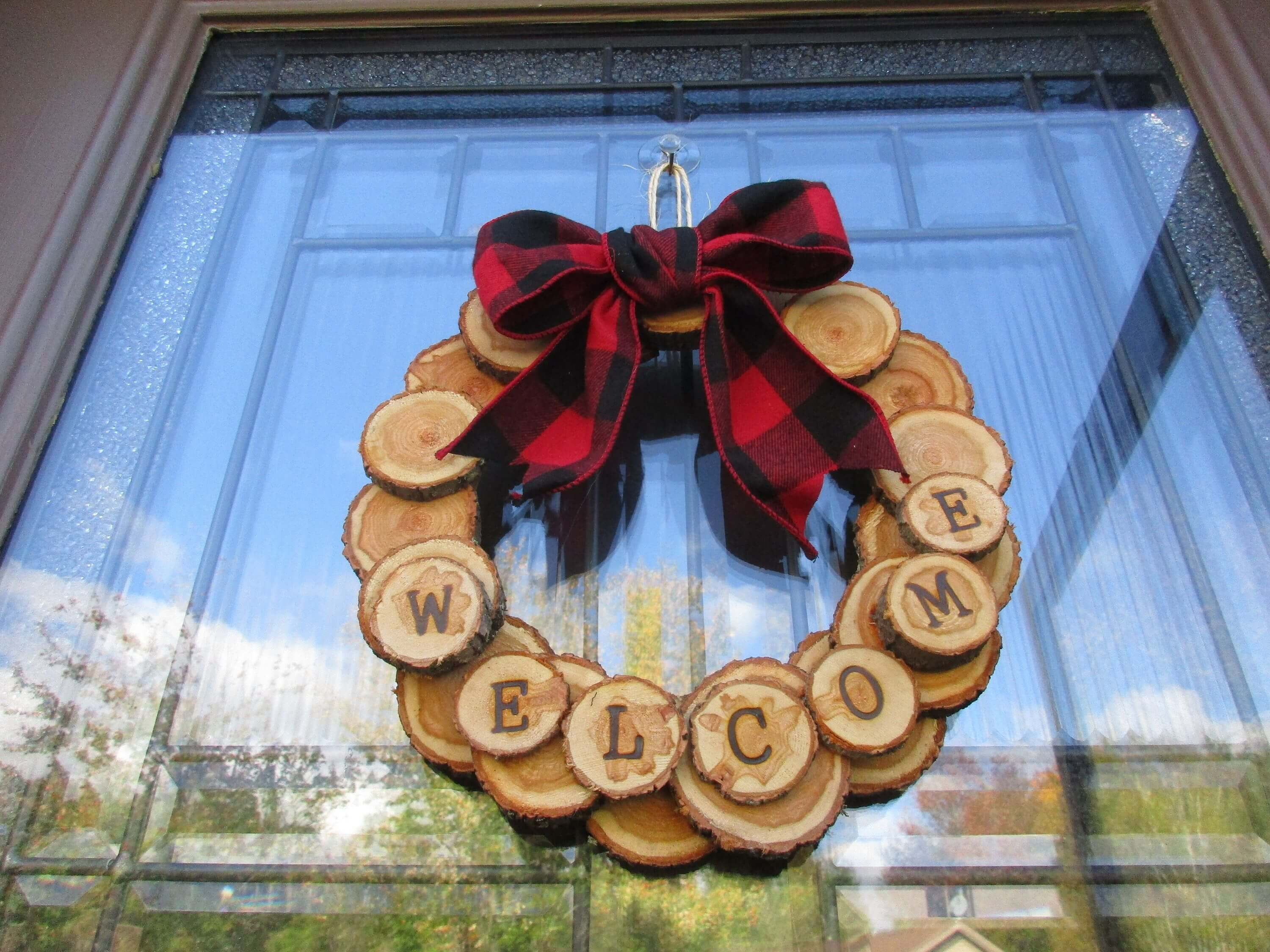 WELCOME WREATH WOOD BURNING DESIGN IDEAS FOR BEGINNERS