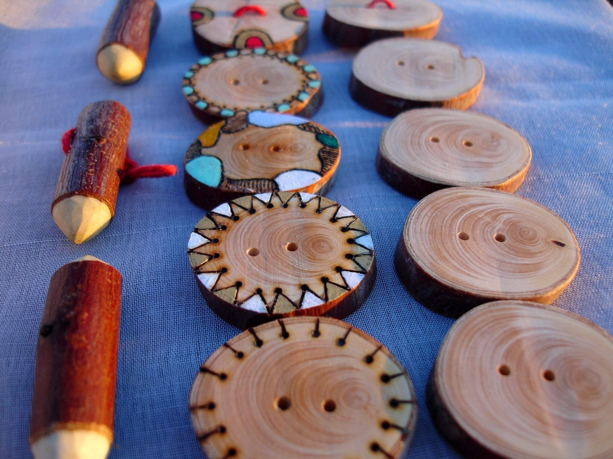 WOOD BURNING BUTTONS DESIGN IDEAS FOR BEGINNERS