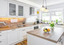 CONSIDERATION BEFORE BUYING WOOD COUNTERTOPS KITCHEN FARMHOUSE STYLE