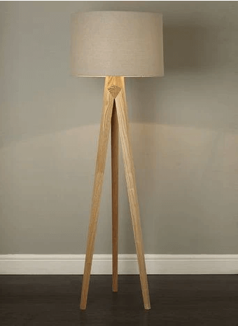 WOODEN TRIPOD LAMP STAND DESIGN IDEAS