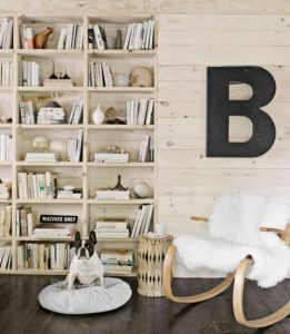 WOODEN WALL OF BOOK NOOK DESIGN IDEAS