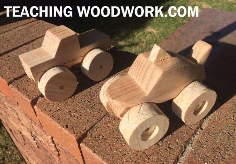 MONSTER TRUCK WOODWORKING PROJECTS IDEAS FOR KIDS