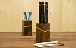 PENCIL CADDY WOODWORKING PROJECTS FOR KIDS