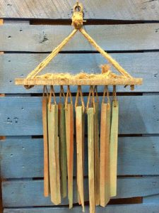 RECLAIMED WOOD WIND CHIMES PROJECTS IDEAS FOR KIDS