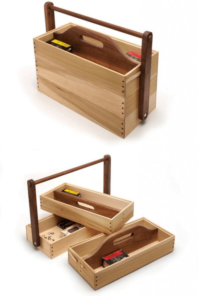WOOD CADDY DIY PROJECTS FOR KIDS
