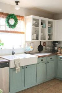 WOODEN KITCHEN CABINET MAKEOVER IDEAS