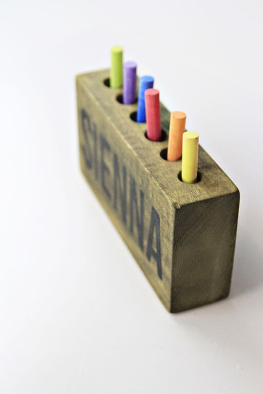 WOODWORKING PROJECTS FOR KIDS BOX CRAYON OR PENCIL HOLDER
