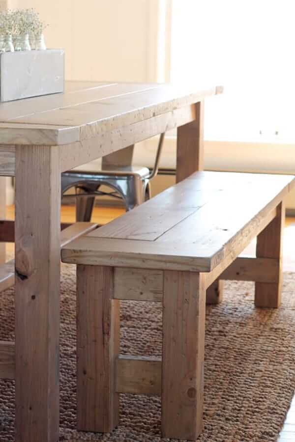 DIY WOOD BENCH FARMHOUSE DESIGN IDEAS