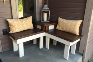 DIY WOOD BENCH IDEAS FOR LIMITED ROOM SPACE