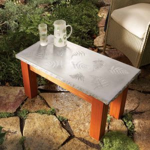 DIY WOODEN STONE TABLE FOR WOODWORKING FURNITURE IDEAS