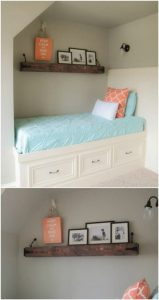 DIY WOODWORKING FURNITURE IDEAS FLOAT THE SHELVES