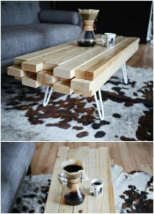 DIY WOODWORKING IDEAS COFFEE TABLE FURNITURE