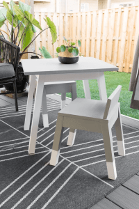 DIY WOODWORKING PROJECT FURNITURE IDEAS MODERN KIDS TABLE AND CHAIRS