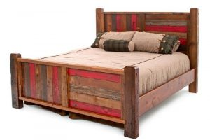 MEDIEVAL RECLAIMED WOOD BED IDEAS