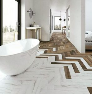 FLOOR TILE IDEAS PORCELAIN WOOD THEMES