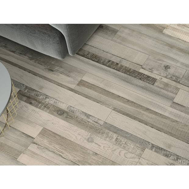 NARROW AND PALE WOOD THEMES PORCELAIN TILE IDEAS
