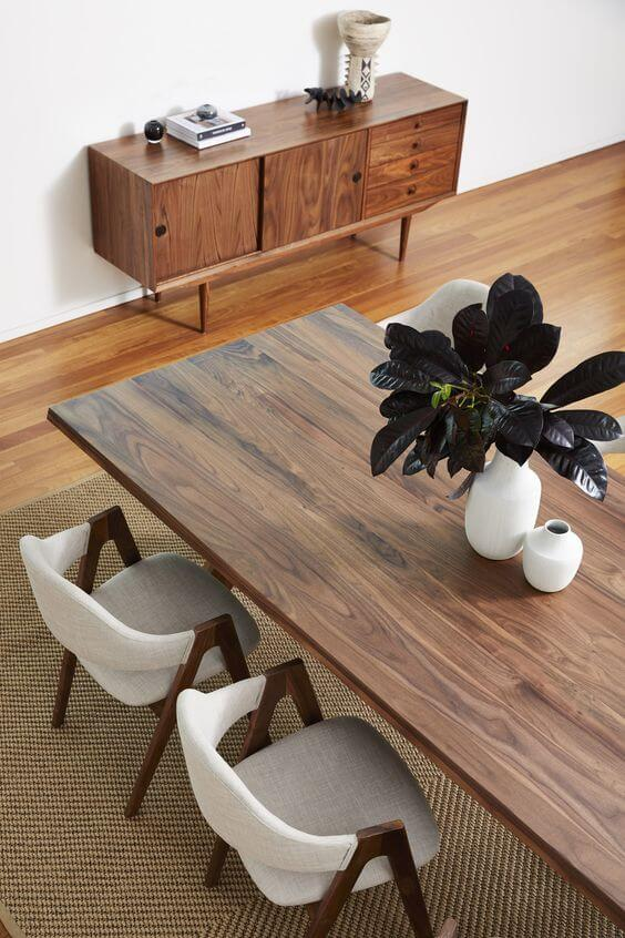 SCANDINAVIAN RECLAIMED WOOD DINING TABLE DESIGN