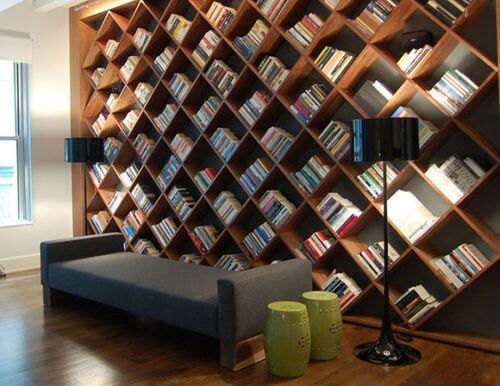 WINE CELLAR LARGE WALL WOOD BOOKSHELF DESIGN IDEAS