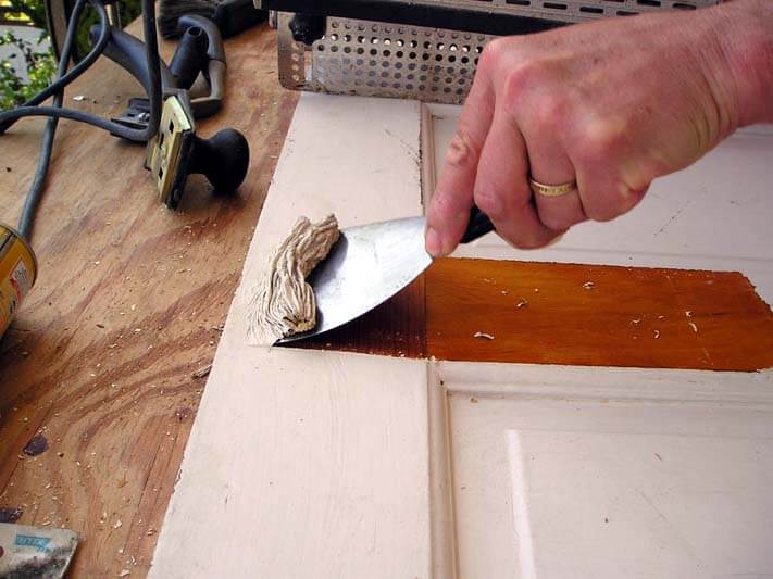 How to Remove Paint from Wood by Chemical Stripping
