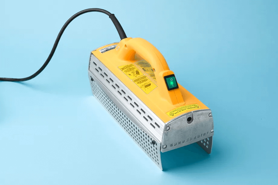 INFRARED DEVICE TO REMOVE PAINT FROM WOOD