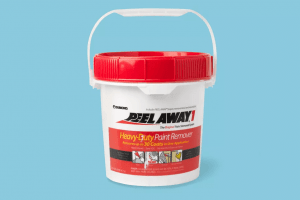 PeelAway to Remove Paint from Wood Surface