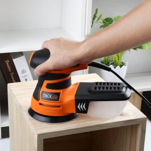 Remove Old Paint from wood surface with Tacklife Orbital Sander