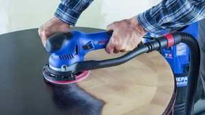 Remove Paint from Wood with Bosch Power Tools 1250 DEVS Electrical Orbital Sander