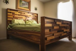 CEDAR WOOD BED FRAME DESIGN IDEAS