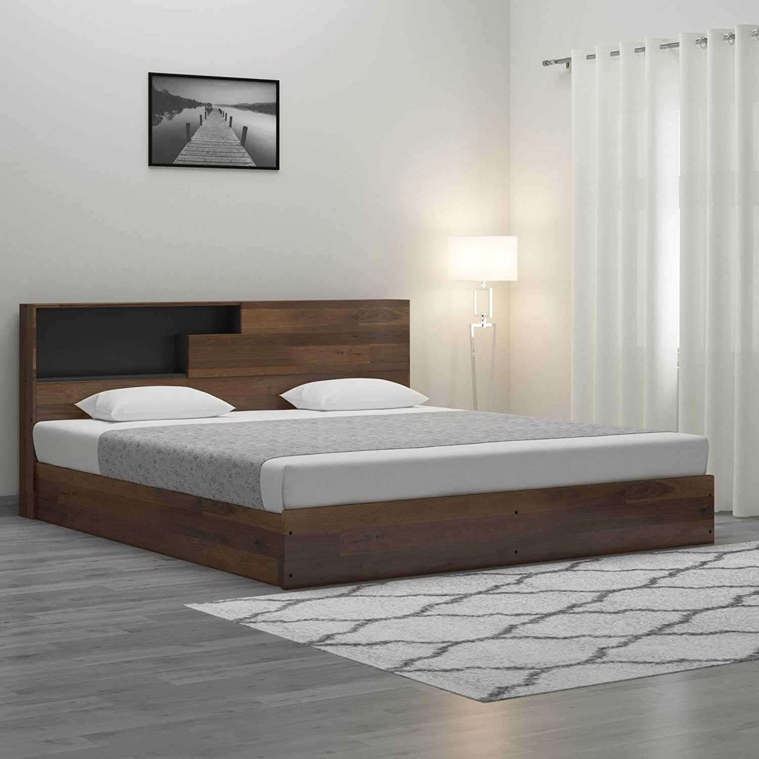 LAMINATED WOOD BED FRAME DESIGN IDEAS